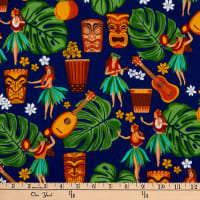 Trans-Pacific Textiles Auntie Hula's Trading Post Royal