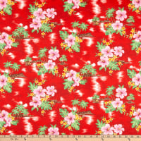 Trans-Pacific Textiles A Moment in Paradise Red