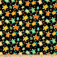 Trans-Pacific Textiles Turtle Island Currents Black
