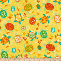 Trans-Pacific Textiles Turtle Island Currents Yellow