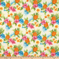 Trans-Pacific Textiles Tutu's Pineapple Stand Beige