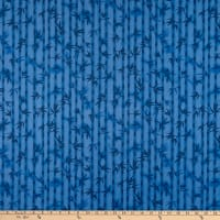 Trans-Pacific Textiles Bamboo Eclipse Navy