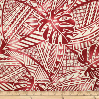 Trans-Pacific Textiles Tribal in Paradise Rust