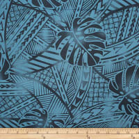 Trans-Pacific Textiles Tribal in Paradise Teal