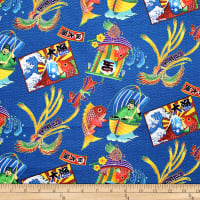 Trans-Pacific Textiles Okinawan Fresh Catch-Royal