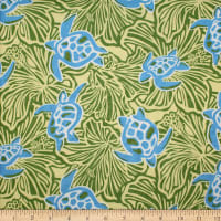 Trans-Pacific Textiles Honu on My Mind Yellow