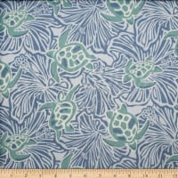 Trans-Pacific Textiles Honu on My Mind Denim