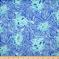 Trans-Pacific Textiles Honu on My Mind Blue