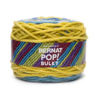 Bernat Pop! Bulky Yarn, Zesty Gray