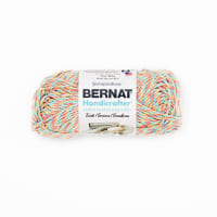 Bernat Handicrafter Cotton Twists Yarn, Candy Sprinkle Twists
