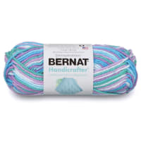Bernat Handicrafter Cotton Ombres Yarn, Beach Ball Blue Ombre