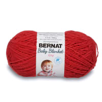 Bernat Baby Blanket Tiny Yarn, Red Barn