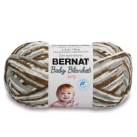 Bernat Baby Blanket Tiny Yarn, Pebble Path