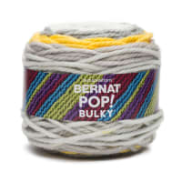 Bernat Pop! Bulky Yarn, Shades of Gray