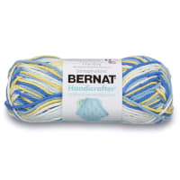 Bernat Handicrafter Cotton Ombres Yarn, Sunkissed Ombre