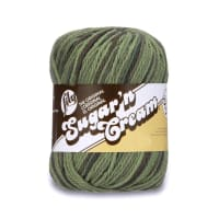 Lily Sugar'n Cream Super Size Ombres Yarn, Renegade