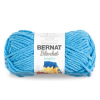 Bernat Blanket Brights Yarn (150g/5.3 oz), Busy Blue