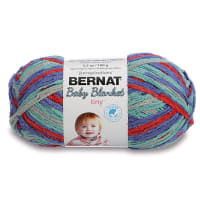 Bernat Baby Blanket Tiny Yarn, Calico Quilt