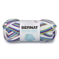 Bernat Handicrafter Cotton Ombres Yarn, Fruit Punch Ombre