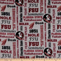 NCAA Florida State Seminoles Seminoles Heather Verbiage Fleece