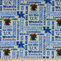 NCAA Kentucky Wildcats Heather Verbiage Fleece