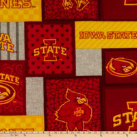NCAA Iowa State Cyclones College Patch Fleece