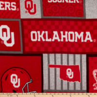 NCAA Oklahoma Sooners College Patch Fleece
