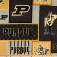 NCAA Purdue Boilermakers College Patch Fleece