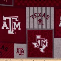 NCAA Texas A&M Aggies College Patch Fleece