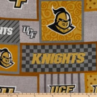 NCAA UCF Knights College Patch Fleece