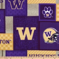 NCAA Washington Huskies College Patch Fleece