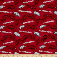 NCAA Arkansas Razorbacks Tone on Tone Cotton