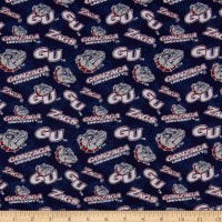 NCAA Gonzaga Bulldogs Tone on Tone Cotton