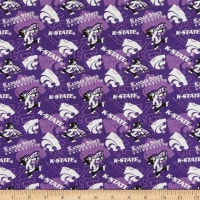 NCAA Kansas State Wildcats Tone on Tone Cotton