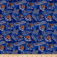 NCAA Memphis Tigers Tone on Tone Cotton