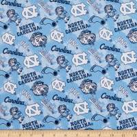 NCAA North Carolina Tar Heels Tone on Tone Cotton