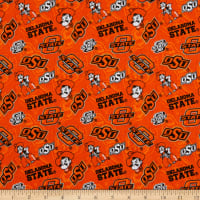 NCAA Oklahoma State Cowboys Tone on Tone Cotton