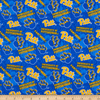 NCAA Pittsburgh Panthers Tone on Tone Cotton