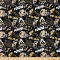 NCAA Purdue Boilermakers Tone on Tone Cotton