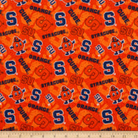 NCAA Syracuse Orange Tone on Tone Cotton