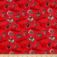 NCAA Texas Tech Red Raiders Tone on Tone Cotton