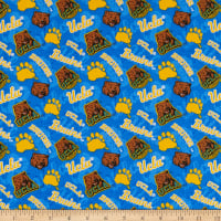 NCAA UCLA Bruins Tone on Tone Cotton