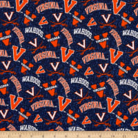 NCAA Virginia Cavaliers Tone on Tone Cotton