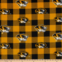 NCAA Missouri Tigers Buffalo Plaid Fleece