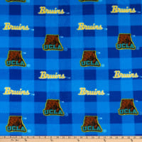 NCAA UCLA Bruins Buffalo Plaid Fleece