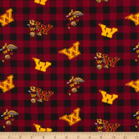 NCAA Minnesota Golden Gophers Buffalo Plaid Cotton