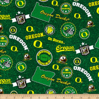NCAA Oregon Ducks Home State Green/Yellow/White