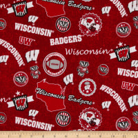 NCAA Wisconsin Badgers Home State Red/Black/White/Grey