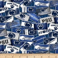 NCAA Penn State Nittany Lions License Plate Cotton Multi