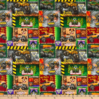 Monster Jam Monster Truck Patch Multi